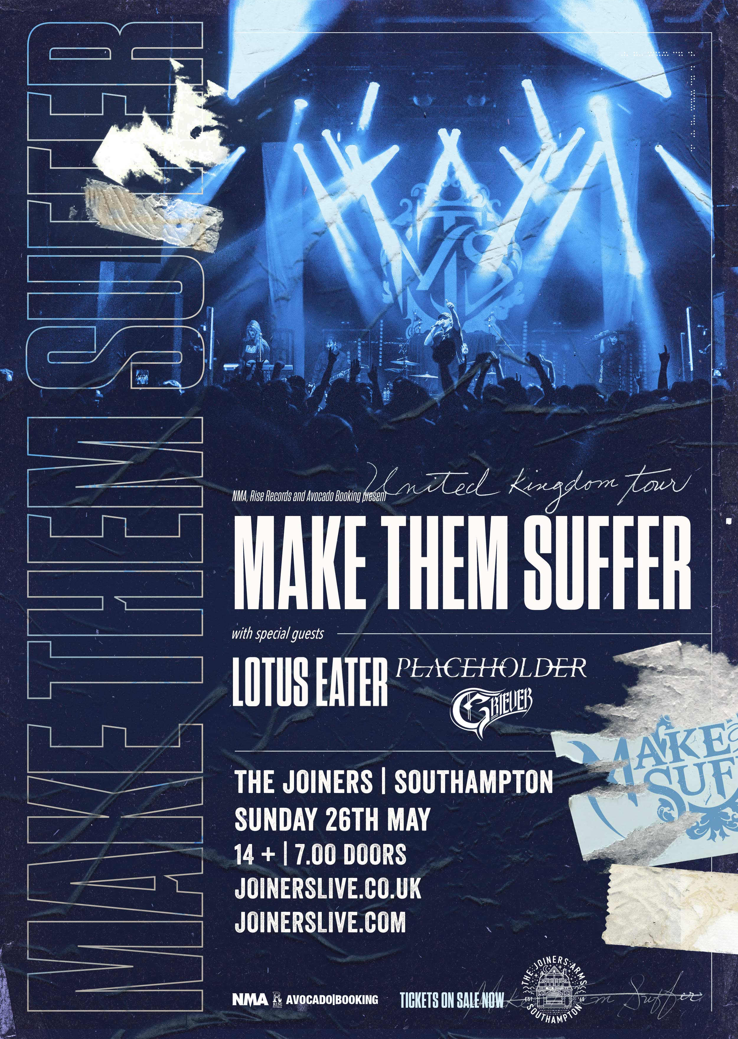 MAKE THEM SUFFER + LOTUS EATER